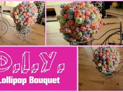 DIY Lollipop Bouquet - Bridal Shower, Baby Shower, Party Decor