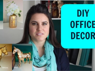 DIY Office Decor: Before & After
