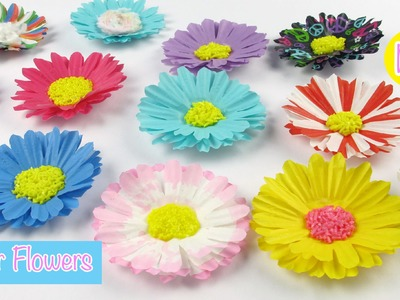 DIY Paper Craft: Paper Flowers Easy Room Decor.Party Decor