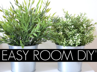 DIY'S FOR ROOM DECOR . EASY & AFFORDABLE