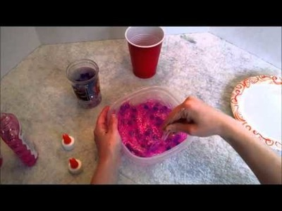 DIY Slime with Water Beads