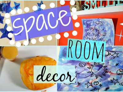 DIY space and Galaxy room decor!!! | A AND O DECOR |