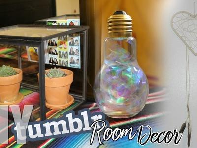 DIY Summer Room Decor 2016 Tumblr Inspired