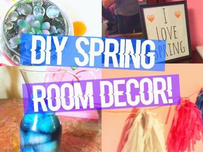 DIY: TUMBLR-INSPIRED SPRING ROOM DECOR!!