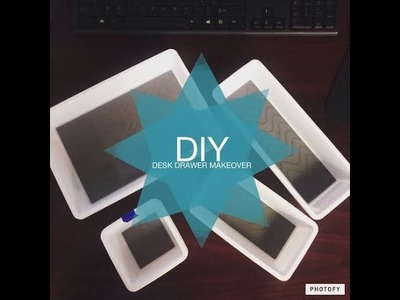 Dollar Tree DIY | DESK DRAWER ORGANIZATION