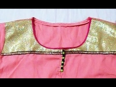 How to make a Kurta  simple and easy method.(DIY)