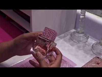 Pink Diamond Perfume Bottle: DIY