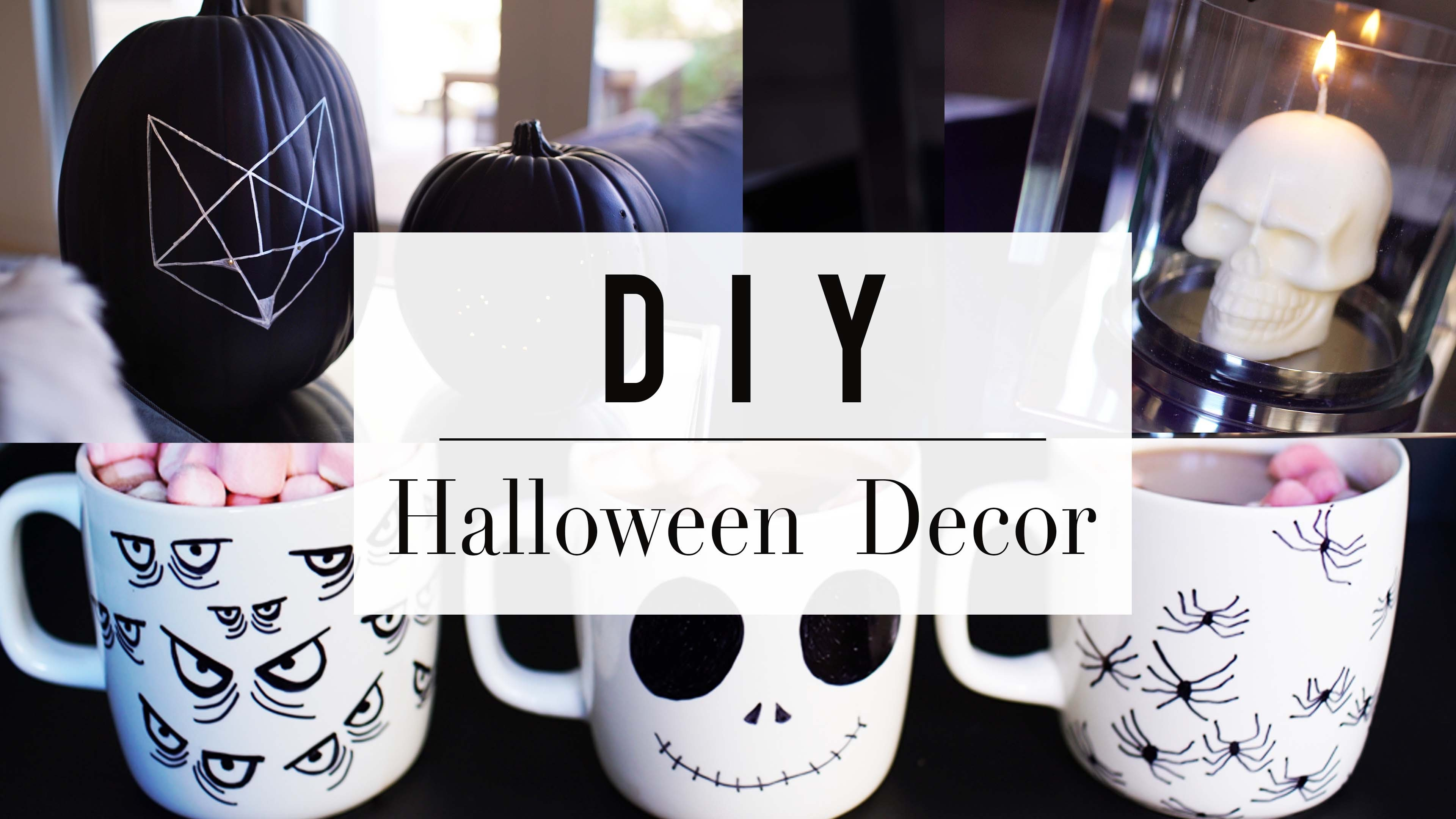 3 Halloween DIY You Need To Try   Home Decor   ANN LE