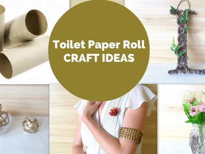 5 Toilet Paper Roll Crafts that You can Actually Sell | DIY Toilet Paper Roll Craft Ideas & Hacks