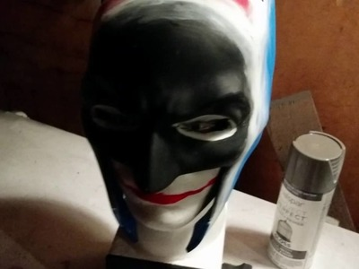 Batman cowl - mask diy build part 2