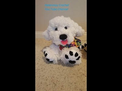 Crochet Bichon Frise Amigurumi Dog DIY Tutorial