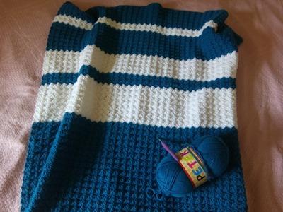 Crochet easy baby blanket