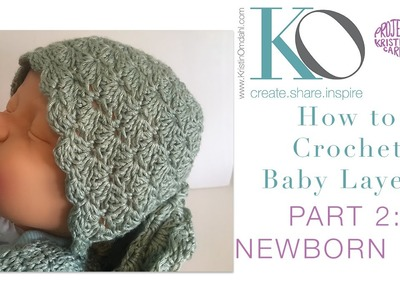 Crochet Layette Part 2: Newborn Baby Hat
