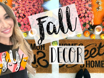 D.I.Y. FALL DECOR | QUICK & EASY! | Alexandra Beuter