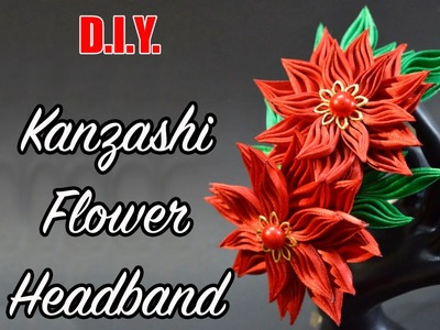 D.I.Y. New Petal | Kanzashi Flower Headband | MyInDulzens