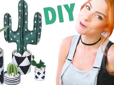 DIY :: Cactus de Papel pra Decorar!