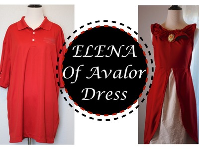 DIY DISNEY ELENA OF AVALOR COSTUME