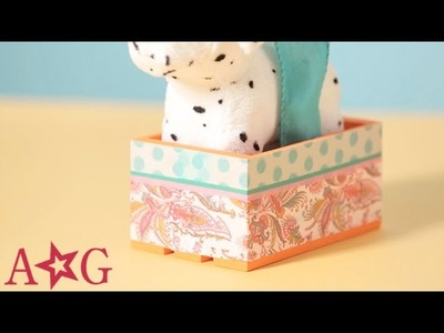DIY Dog & Cat Pet Carrier Doll Craft | American Girl