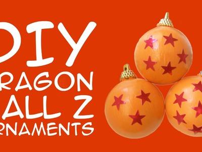 DIY Dragon Ball Z Holiday Ornaments: Crafty McFangirl Tutorial