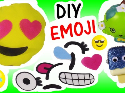DIY EMOJI PILLOW KIT! New Sewing!  Change Emoji with your MOOD! SHOPKINS Squishy! LIP BALM FUN