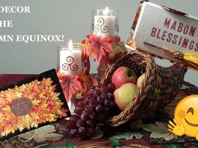 DIY Fall Decor for the Autumn Equinox!