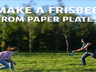 DIY How to make a frisbee from paper plates | Nifty | 5 Minute Crafts