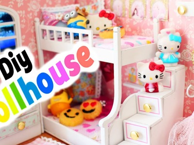 DIY | Miniature Dollhouse Ballerina Room - FULL VIDEO - simplekidscrafts
