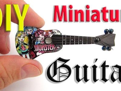 DIY Miniature Guitar