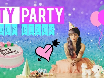 DIY Pity Party Room Decor! Melanie Martinez-Inspired!