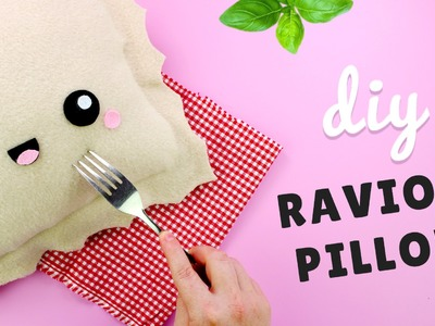 DIY Ravioli Pillow | Kawaii Room Decor