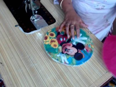 DIY ROUND BAG FOR KIDS