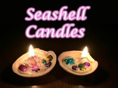 DIY Seashell Candles | Diwali special | Diwali decoration ideas