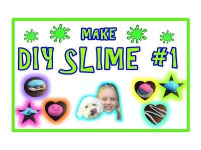 DIY SLIME # 1 - ULTRA EASY & SLIMY FUN! - How to Make SLIME tutorial