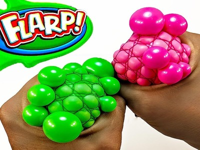 DIY: SUPER FART SLIME!! NO BORAX!! Making Mesh Stress Balls with FLARP Slime! It's Really LOUD!