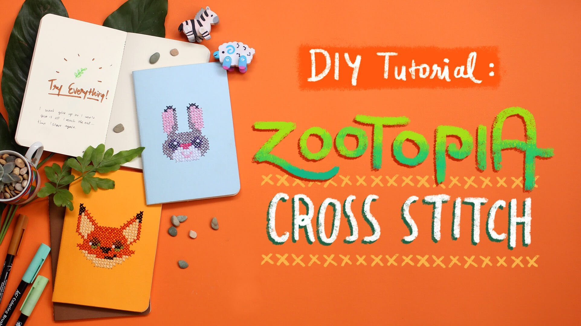 DIY Tutorial: Cross Stitch Notebook Cover   Today's Attempt by Treswaluya