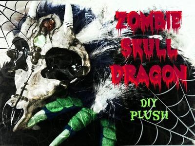 DIY Zombie Skull Dragon Plush