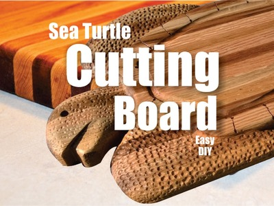 Easy DIY Sea Turtle Cutting Board
