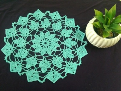 ENGLISH- How to Crochet a Doily