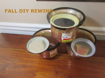 Fall Decor Home DIY- Fall DIY Rewind