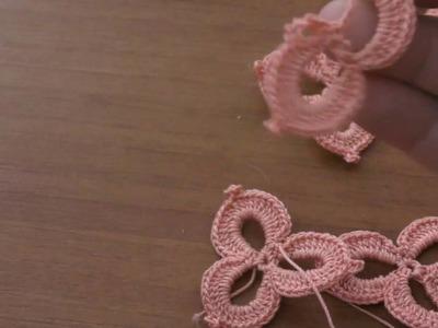 Flowers of Dunes crochet tutorial, lesson 5