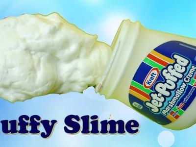 Fluffy Marshmallow Slime How to Make DIY