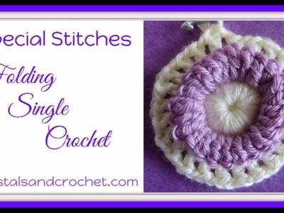 Folding Single Crochet