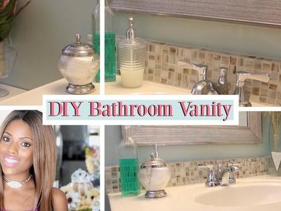 ♥ Glam Home ♥ DIY ♥ Bathroom Vanity Remodel