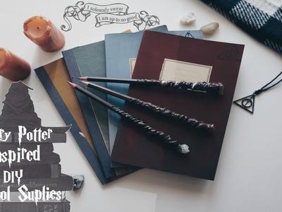 Harry Potter Inspired DIY School Supplies