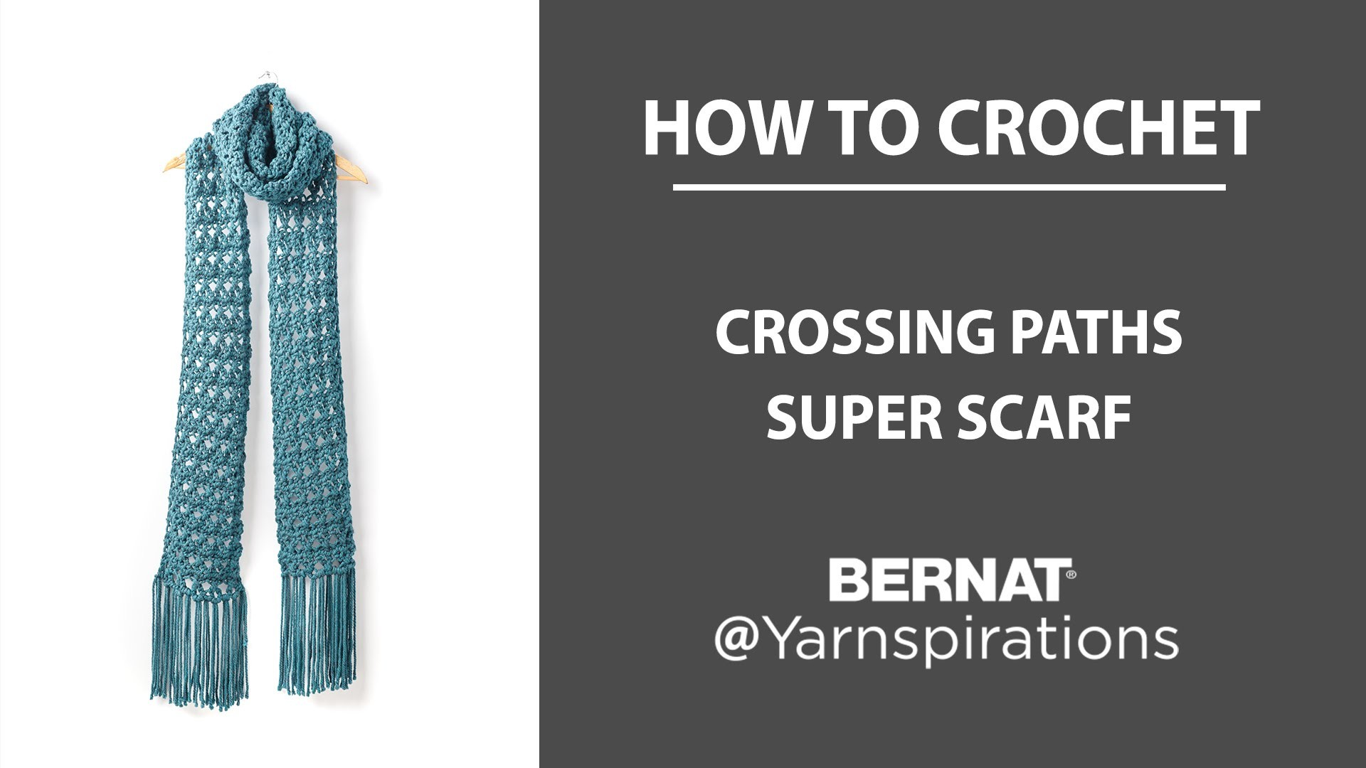 How To Crochet a Super Scarf