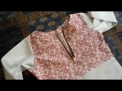 How To Cut & Stitch Sleeves - DIY SuperFast