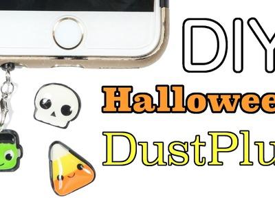 How to DIY Halloween Cell Phone Dust Plug Clay Tutorial
