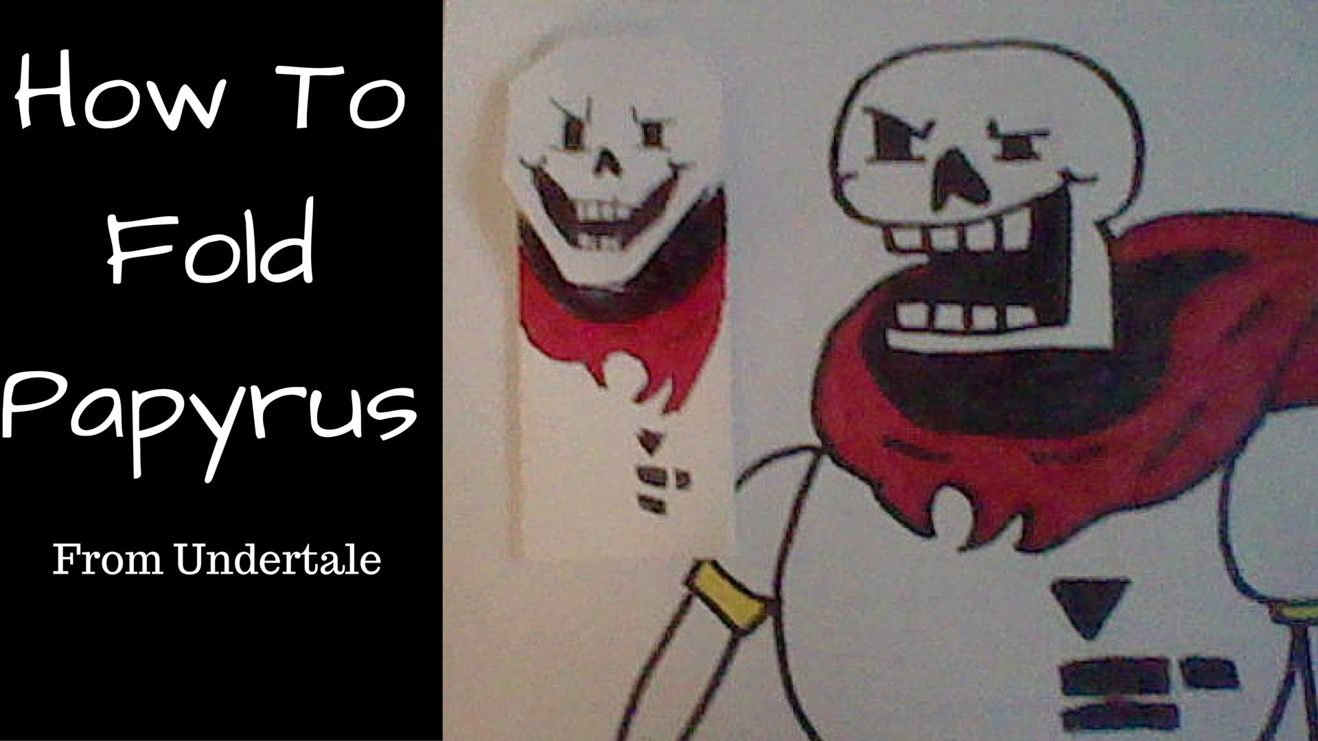 How to fold Papyrus!