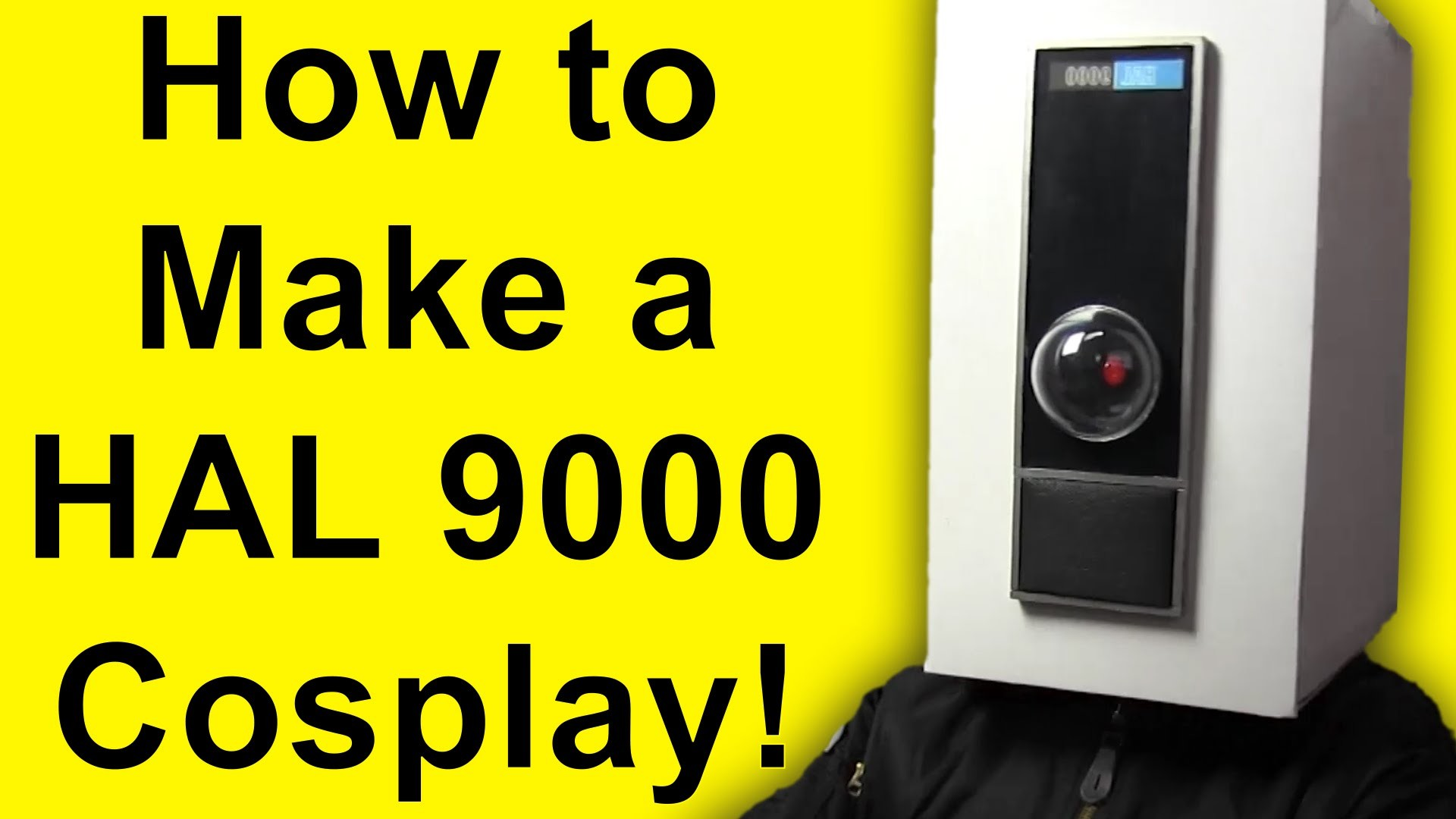 How To Make Hal 9000 (Cosplay DIY)