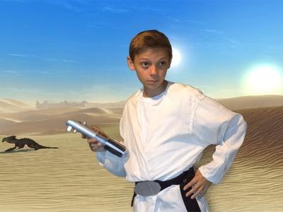 How To Make Luke Skywalker Costume and Lightsaber! (DIY)